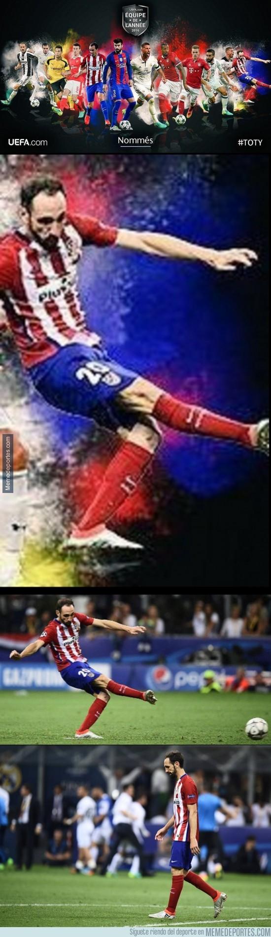 926442 - Lo que le ha hecho la UEFA a Juanfran es de ser unos higos de fruta