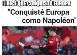 Enlace a Zlatan y sus contradicciones...