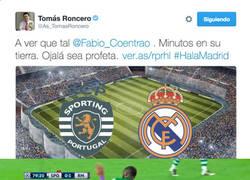 Enlace a Roncero gafando al Real Madrid, ahora con Coentrao