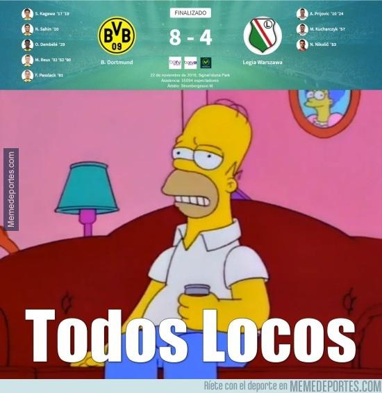 926656 - Mientras tanto, el Borussia Dortmund - Legia Warszawa