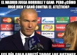 Enlace a Zidane tiene el secreto