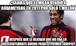 Enlace a Pierre Aubameyang, el peor error del AC Milan