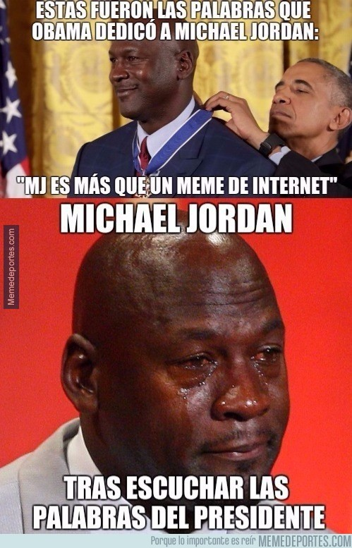 926817 - Obama describió a Michael Jordan a la perfección