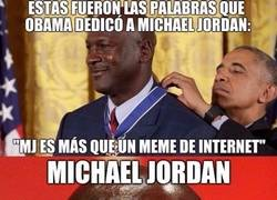 Enlace a Obama describió a Michael Jordan a la perfección