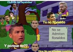 Enlace a En el club de las leyendas no dejan entrar a Cristiano por este motivo