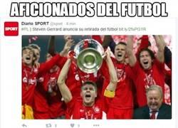 Enlace a Steven Gerrard anuncia su retirada del fútbol