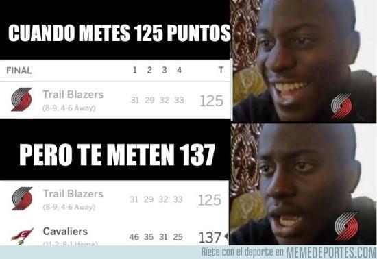 927118 - Normalmente 125 puntos es igual a victoria... no en el caso de los Blazers
