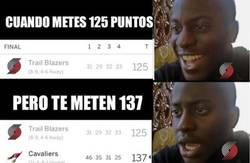 Enlace a Normalmente 125 puntos es igual a victoria... no en el caso de los Blazers