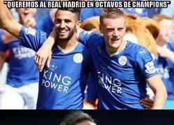 Enlace a Las palabras del Leicester gustan a Florentino