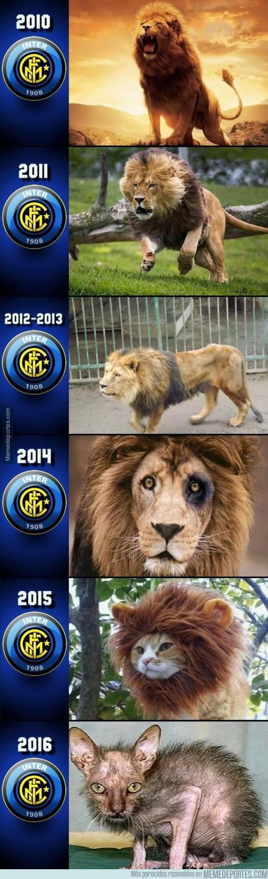 927341 - Terrible descenso que ha tenido el Inter de Milan los últimos años