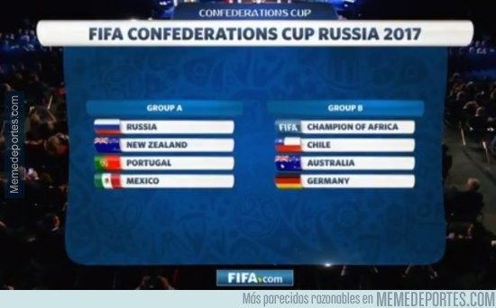 927515 - Así quedaron los grupos de la Copa Confederaciones 2017