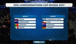 Enlace a Así quedaron los grupos de la Copa Confederaciones 2017