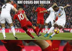 Enlace a Escalofriante la lesión de Coutinho :(