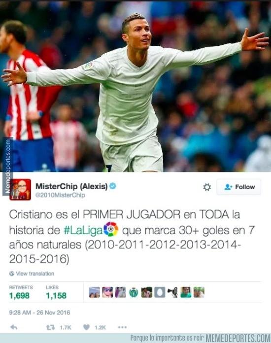 927725 - Cristiano Ronaldo rompió ayer otro récord increíble