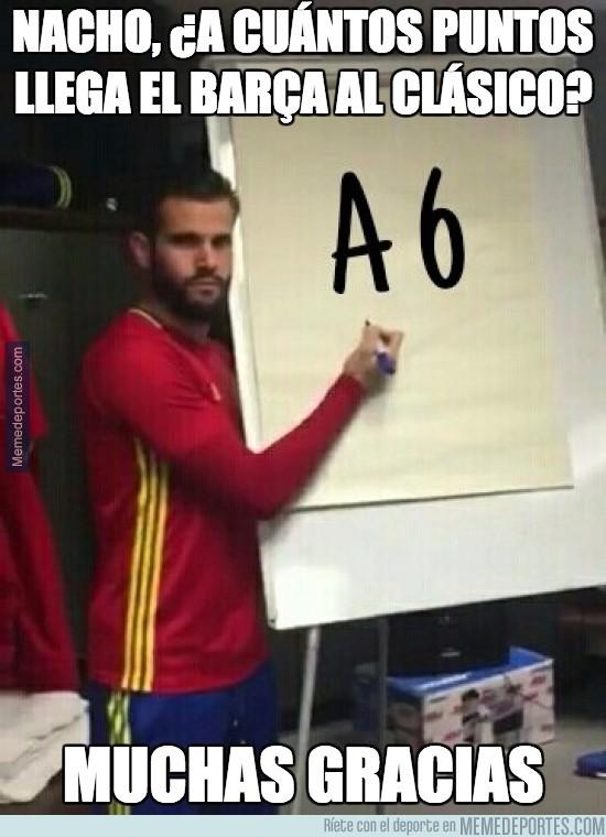 927957 - Nacho se lo deja claro al Barça