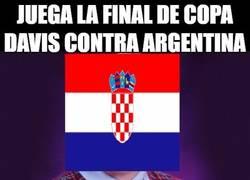 Enlace a Juega la final de copa Davis contra Argentina