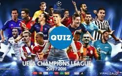 Enlace a QUIZ: Relaciona cada nombre con el escudo que le corresponde [Champions League 2016/17]