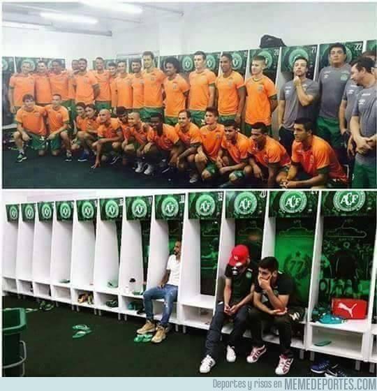 928379 - Antes y después del incidente del equipo Brasileño. #Fuerza