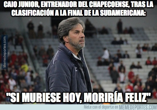 928480 - Caio Junior, entrenador del chapecoense, tras la clasificación a la final de la sudamericana:
