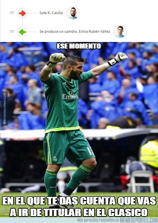 928690 - Kiko Casilla se hace ilusiones