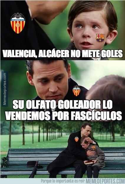 928847 - Alcácer se dejó algo importante en Valencia