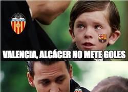 Enlace a Alcácer se dejó algo importante en Valencia