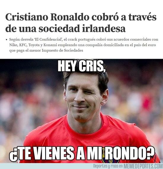 928945 - Cristiano y Messi ya comparten rondo