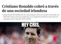 Enlace a Cristiano y Messi ya comparten rondo