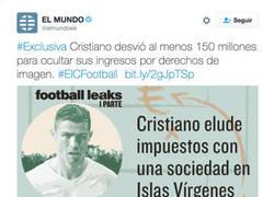 Enlace a ESCÁNDALO MUNDIAL: Cristiano Ronaldo desvió 150 millones de euros en derechos de imagen