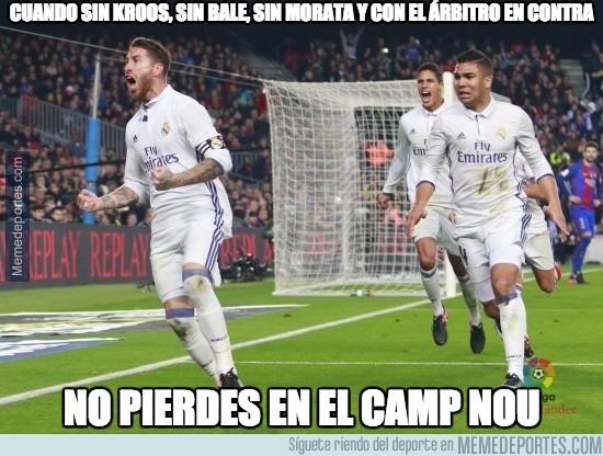 929570 - Heróico lo del Real Madrid en el Camp Nou