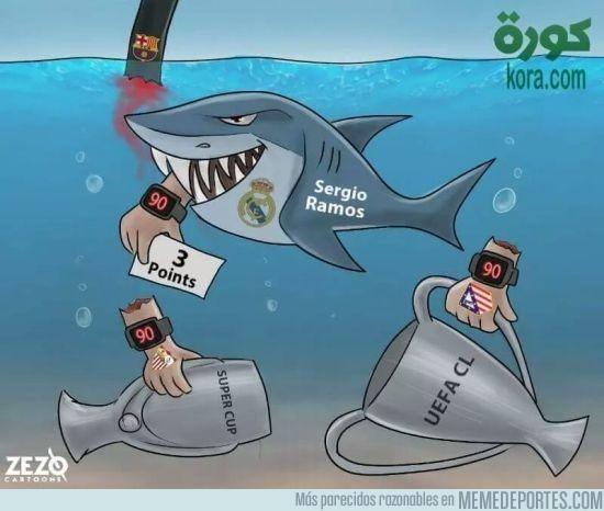 929718 - Sergio Ramos es todo un tiburón