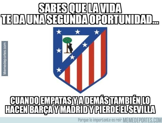 929771 - El Atlético sigue vivo gracias a terceros...