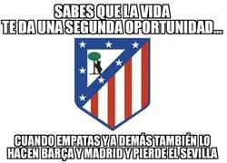 Enlace a El Atlético sigue vivo gracias a terceros...