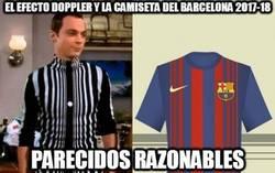 Enlace a El efecto doppler y la camiseta del Barcelona 2017-18