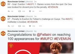 Enlace a Una triste historia en 3 tweets, así le va al United