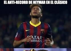 Enlace a El anti-record de Neymar en el clásico del que no estará muy orgulloso