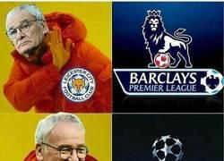 Enlace a Ranieri y el Leicester City, está claro lo que quieren...