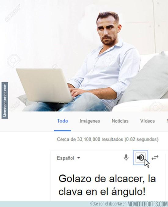 930437 - Alcácer se desespera ante la falta de gol...