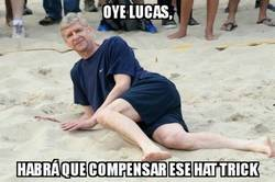 Enlace a Arsene Wenger tras el hattrick de Lucas Pérez para el Arsenal