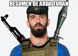 Enlace a El resumen de Arda Turan anoche