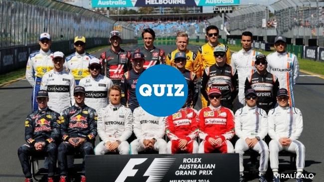 930632 - QUIZ: Mundial F1 2016. El test definitivo del último mundial