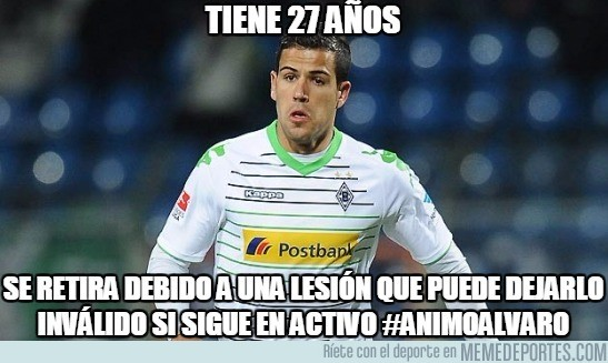 930667 - Alvaro Domínguez se retira con apenas 27 años por lesión, una lástima