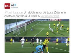 Enlace a El hijo de Zidane la vuelve a liar en la portería del Real Madrid