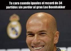 Enlace a Zidane iguala el récord de Leo Beenhakker