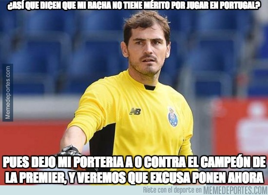 930875 - Casillas sigue totalmente intratable