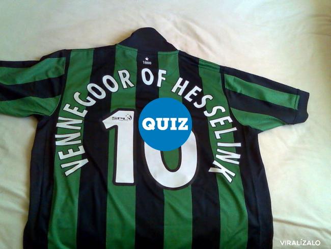 930964 - QUIZ: Nombres raros de futbolistas. Verdadero o falso