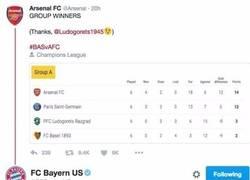 Enlace a Zasca del Bayern al Arsenal antes del sorteo de Champions