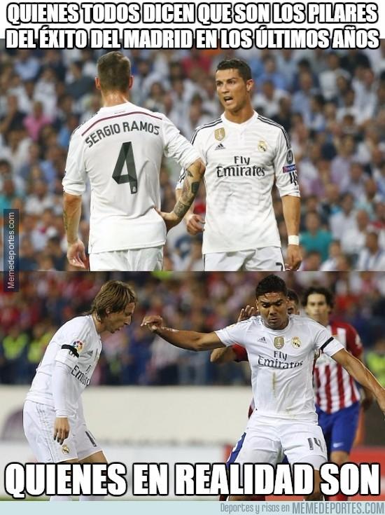 931023 - Los verdaderos pilares del Real Madrid