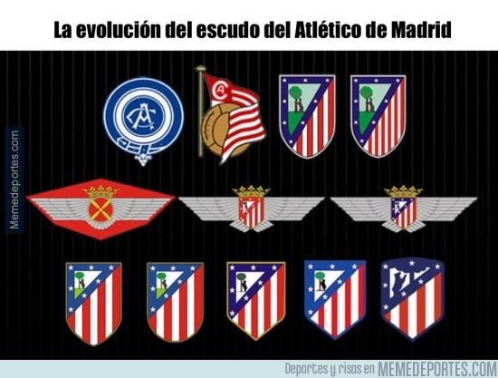 Resultado de imagen de evolucion escudo del atletico de madrid
