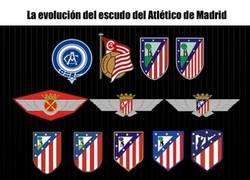 Enlace a La evolución de los escudos del Atlético de Madrid